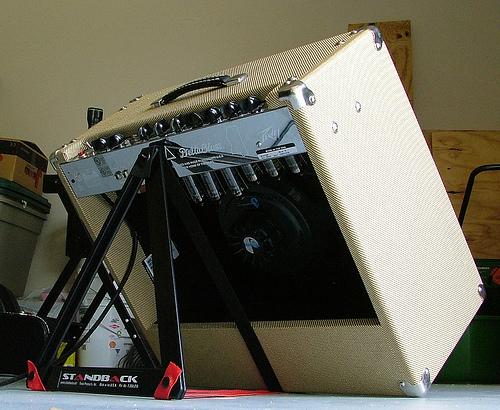 gear review standback amp stands. Black Bedroom Furniture Sets. Home Design Ideas